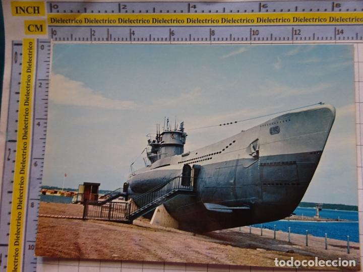 POSTAL DE BARCOS NAVIERAS. BARCO BUQUE SUBMARINO HOCHSEETAUCHBOOT TYP II C/41 ALEMANIA. 452 (Postales - Postales Temáticas - Barcos)