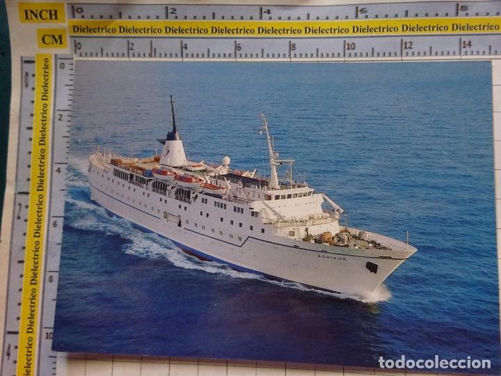 POSTAL DE BARCOS NAVIERAS. BARCO BUQUE CRUCERO JADROLINIJA CRUISES MS ADRIANA CROACIA. 453 (Postales - Postales Temáticas - Barcos)