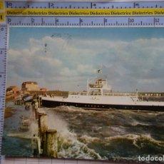 Postales: POSTAL DE BARCOS NAVIERAS. BARCO BUQUE EN PUERTO DAGEBÜLL ALEMANIA. 466. Lote 180039941
