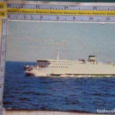 Postales: POSTAL DE BARCOS NAVIERAS. BARCO BUQUE MS ROSTOCK. SASSNITZ RÜGEN ALEMANIA. 468. Lote 180040020