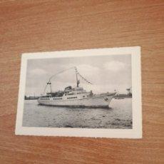 Postales: POSTAL WAPPEN VAN HAMBURG AUF DER FAHRT NACH HELGALAND SIN CIRCULAR. Lote 180407908