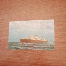 Postales: POSTAL ORAZIO Y VIRGILIO NAVIGAZIONE GENERALE ITALIANA SIN CIRCULAR. Lote 180411850