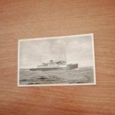 Postales: POSTAL KORSOR M/F FREIA SIN CIRCULAR. Lote 180412746