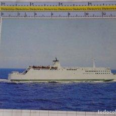 Postales: POSTAL DE BARCOS NAVIERAS. BARCO BUQUE FERRY RUGEN, ALEMANIA. 797. Lote 180983396