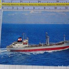 Postales: POSTAL DE BARCOS NAVIERAS. BARCO BUQUE MS CROSTAFELS ALEMANIA. 802. Lote 180983718