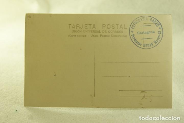 Postales: RARA POSTAL FOTOGRAFICA SUBMARINO B1 CARTAGENA FOTOGRAFIA CASAU - Foto 3 - 181457823