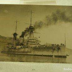 Postales: DESTRUCTOR MILITAR ESPAÑOL POSTAL FOTOGRAFICA ORIGINAL CASAU CARTAGENA. Lote 181458596