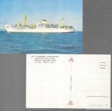 Postales: POSTAL * BARCO TURKISH MARITIME LINES *. Lote 181575772