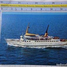 Postales: POSTAL DE BARCOS NAVIERAS. BARCO BUQUE FERRY MS POSEIDON ALEMANIA. 2550. Lote 181626931
