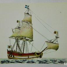 Postales: POSTAL HISTORIA DEL MAR, BOMBARDA FRANCESA, SIGLO XVII Nº 7. Lote 182292800