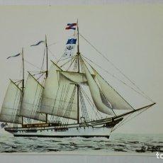 Postales: POSTAL HISTORIA DEL MAR, BUQUE ESCUELA, MARINA URUGUAYA, AÑO 1919, Nº 9. Lote 182293763