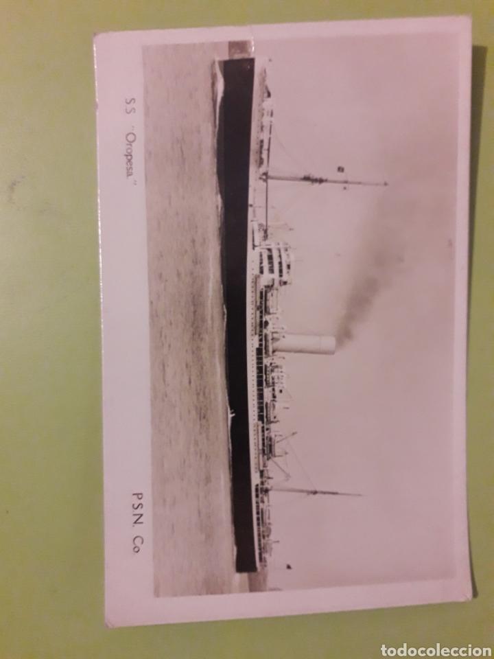 S.S. OROPESA P.S.N. TARJETA POSTAL POST CARD (Postales - Postales Temáticas - Barcos)