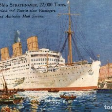 Cartes Postales: ELECTRIC SHIP STRAHAIRD. PAQUEBOTE SHIP. Lote 182441692
