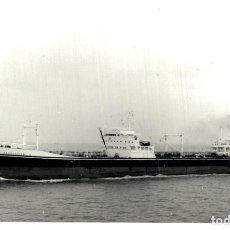 Postales: RPPC MV QUEENSGARTH ZAMBER SHIP BRITISH. Lote 182451097