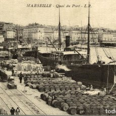 Postales: MARSEILLE - QUAI DU PORT. Lote 182890601