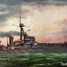 Cartes Postales: HMS DREADNOUGHT. Lote 182892517