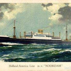 Cartes Postales: HOLLAND AMERICA LINE NOORDAM. Lote 182895262