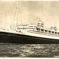 Postales: SS NIEUW AMSTERDAM. Lote 182897413