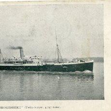 Postales: POSTAL BARCO RMSP PEMBROKESHIRE (1915). Lote 183215130