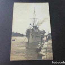 Postales: CRUCERO ESPAÑOL RIO DE LA PLATA POSTAL FOTOGRAFICA 1905. Lote 183437775