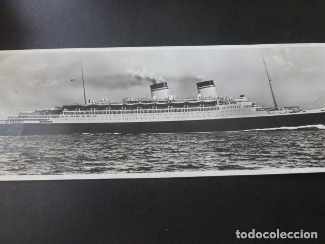 BARCO DE PASAJEROS CONDE DI SAVOIA POSTAL ALARGADA (Postales - Postales Temáticas - Barcos)