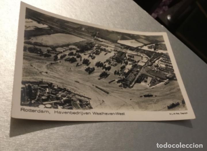 Postales: Antigua postal fotográfica Barcos puerto Rotterdam - Foto 3 - 183546377