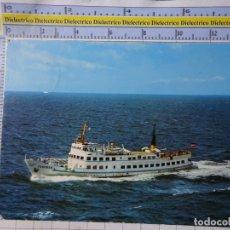Postales: POSTAL DE BARCOS NAVIERAS. BARCO BUQUE MS FEHMARN ALEMANIA 1097. Lote 183598621