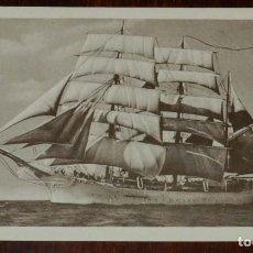 Postales: POSTAL DEL BUQUE ESCUELA GALATEA, MUSEO NAVAL, MADRID, NO CIRCULADA.. Lote 183766338