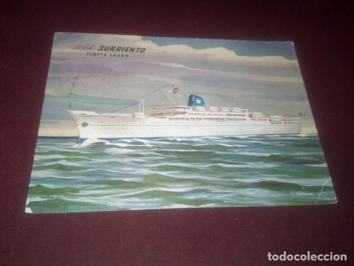 M/N SURRIENTO (Postales - Postales Temáticas - Barcos)
