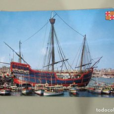 Postales: BARCELONA - CARABELA SANTA MARÍA - ESCRITA. Lote 184641227