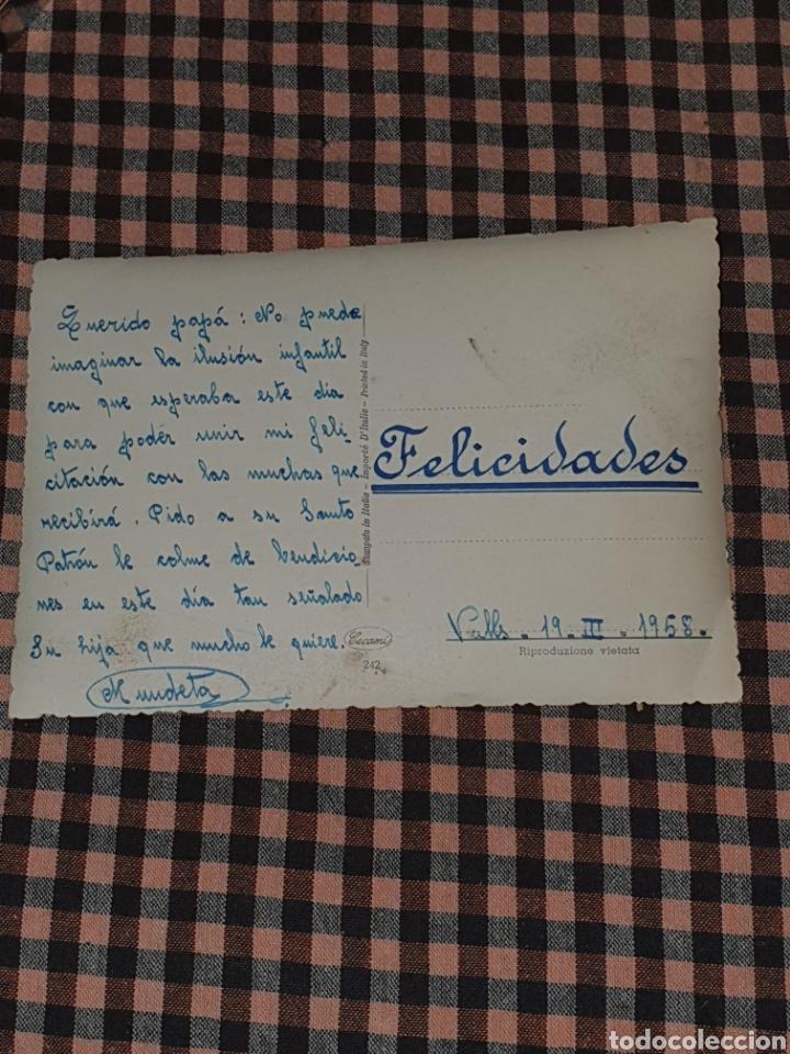Postales: Barcos veleros, escrita en 1958. - Foto 2 - 186143535