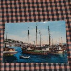 Postales: BARCOS VELEROS, ESCRITA EN 1958.. Lote 186143535