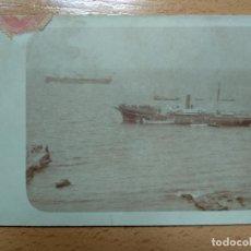 Postales: POSTAL FOTOGRAFICA. BARCOS. REVERSO SIN DIVIDIR.. Lote 186352055