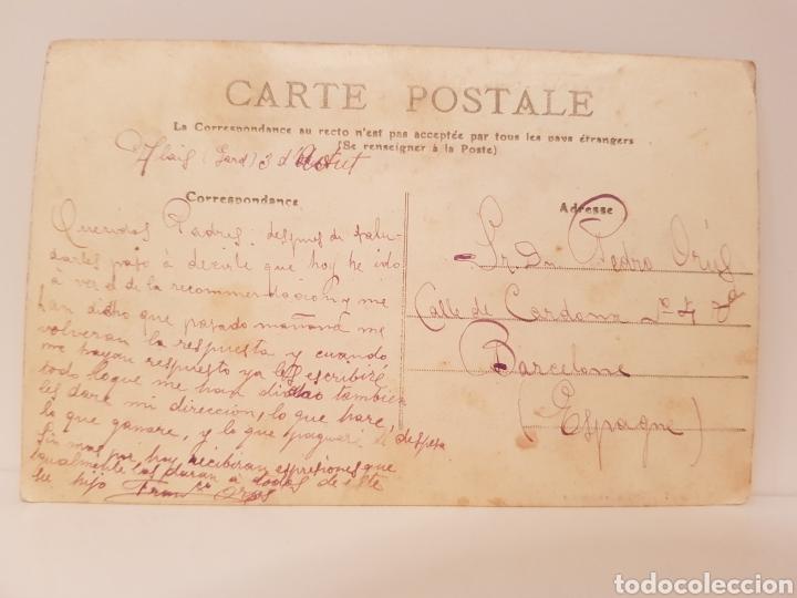 Postales: 10- CETTE- STATION BALNÉAIRE- DANS LE PORT/ ORIGINAL DE ÉPOCA/ 14× 9 Ctm/ - Foto 2 - 186360377