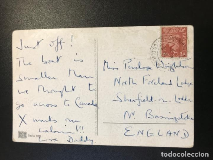 Postales: Antigua postal suiza barco velero dibujo NLG postal serie 183 circulada - Foto 4 - 188570371
