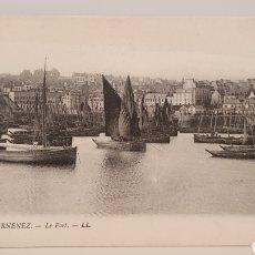 Postales: 4 DUARNENEZ/ LE PORT/ SIN CIRCULAR/ ORIGINAL DE ÉPOCA/ 9×14/ REF.A9. Lote 189485988