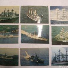 Postales: LOTE POSTALES BUQUES DE GUERRA. Lote 189822743