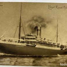 Postales: TARJETA POSTAL. BARCO. SS. HOLLANDA. LLOYD ROYAL HOLLANDAIS. . Lote 190220105