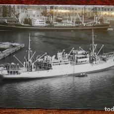 Postales: FOTO POSTAL BARCO TURIA, COLECCION GALILEA, SIN CIRCULAR. Lote 190734412