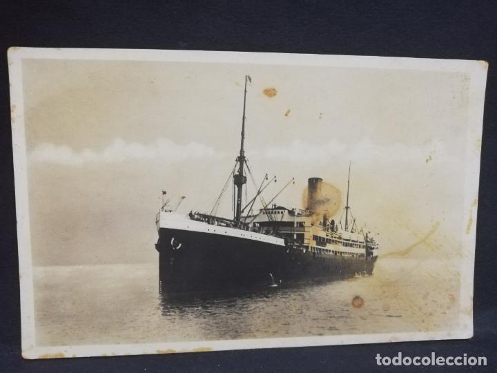 TARJETA POSTAL DE BARCOS. NORDDEUTSCHER LLOYD BREMEN. (Postales - Postales Temáticas - Barcos)
