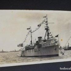 Postales: TARJETA POSTAL FOTOGRAFICA DE BARCOS. RECUERDO DEL VIAJE DEL CRUCERO CUBA. 1937.. Lote 190812933