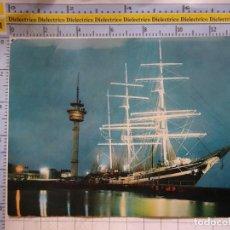 Postales: POSTAL DE BARCOS NAVIERAS. BARCO BUQUE WINDJAMMER PUERTO BREMERHAVEN ALEMANIA. 2423. Lote 191274690