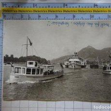 Postales: POSTAL DE BARCOS NAVIERAS. BARCO BUQUE EN RÍO RHIN DRACHENFELS, ALEMANIA. 2424. Lote 191274751