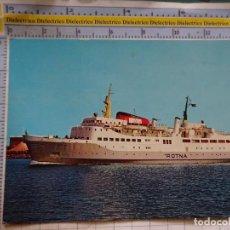 Cartes Postales: POSTAL DE BARCOS NAVIERAS. BARCO BUQUE BORNHOLM MS ROTNA DINAMARCA. 2444. Lote 191275813