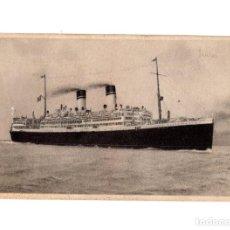 Postales: BARCO.- DUILIO, MEDITERRANEO, SUD AMERICA EXPRESS.. Lote 191617691