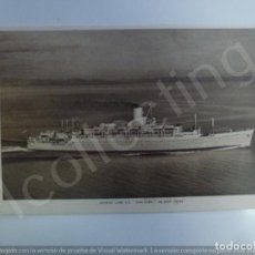 Postales: POSTAL. ORIENT LINE S.S. ORCADES. NO ESCRITA. . Lote 191759978