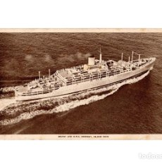 Postales: BARCO OROSAY.- ORIENT LINE. 28.000 TONS. . Lote 192192420