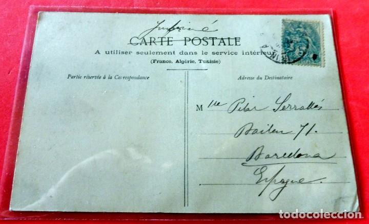 Postales: POSTAL - BIARRITZ PITTORESQUE - TRÉNIÈRE Nº 106 - CIRCULADA - Foto 2 - 192740828
