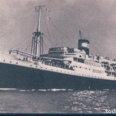 Postales: POSTAL BARCO - CIE DE NAVIGATION MIXTE - ALGERIE-TUNISIE - PAQUEBOT EL MASOUR. Lote 193079762