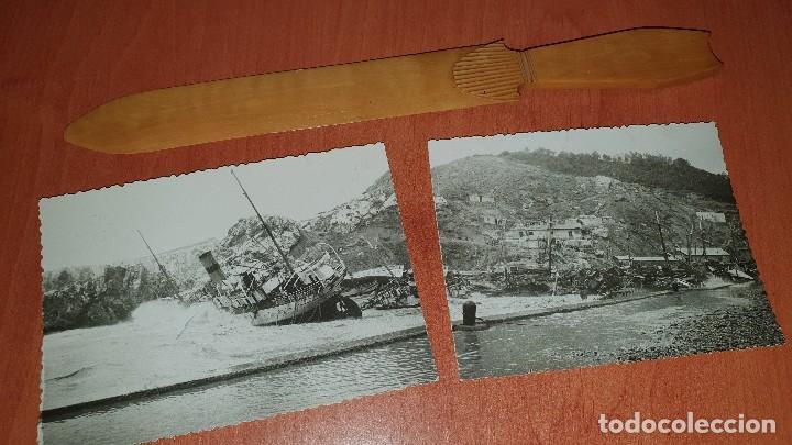 Postales: Efectos despues de temporal en la costa, Postal fotografica panoramica, sin datos de edicion - Foto 2 - 194180673